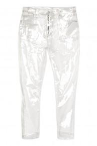 Hài hước quần jeans trong suốt nhìn xuyên thấu giống hệt áo mưa