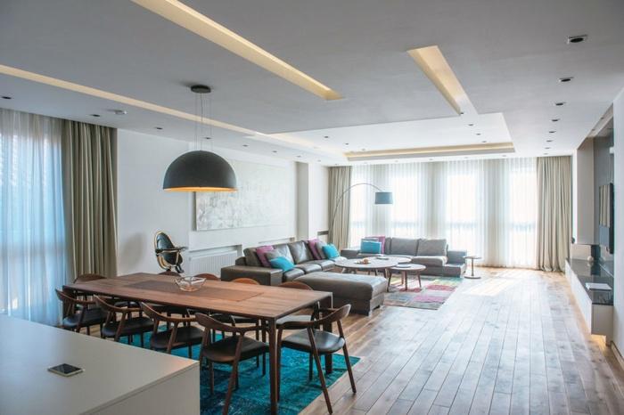 Bài trí nội thất gỗ thông minh cho nhà thêm rộng