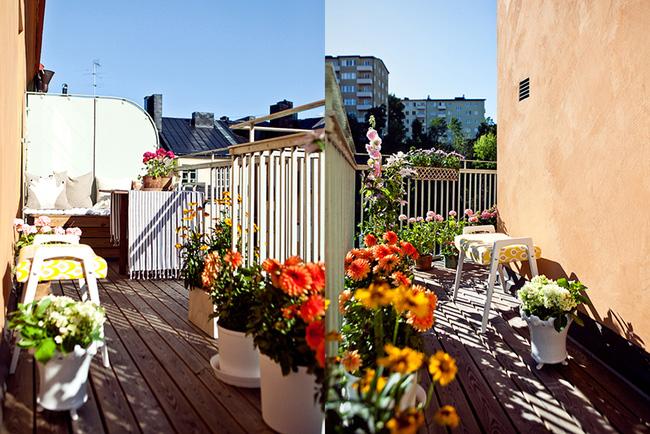 Ngắm căn hộ nhỏ góc nào cũng xinh bên ban công rực rỡ hoa và nắng - Ảnh 6.