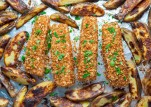 Ngon bất ngờ, cá vược nên duyên cùng khoai tây