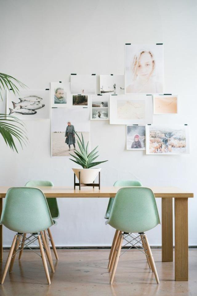 5. Đôi khi thứ bạn mong muốn từ một bộ bàn ăn gia đình chỉ là sự mộc mạc, giản dị như thế này đó.