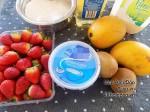 Bánh mochi trái cây tươi tuyệt ngon cho ngày hè