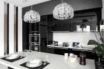 Ngắm hoài không chán 16 căn bếp vượt thời gian với gam màu đen – trắng
