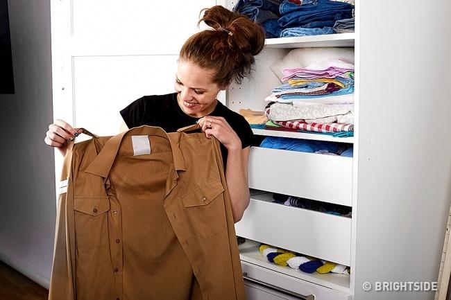 Cô nàng này đã thử mặc quần áo của chồng trong 10 ngày, và nhận được kết quả bất ngờ