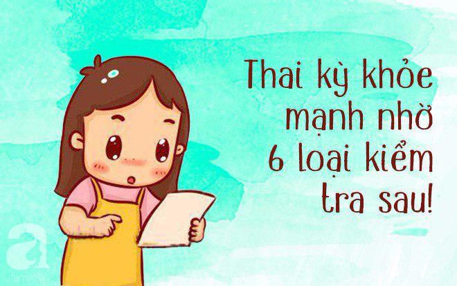 6 loại kiểm tra sức khỏe cần thực hiện trước khi mang thai để con khỏe