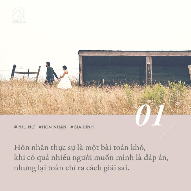 Phụ nữ khôn ngoan sẽ không vì bi quan mà vứt hôn nhân chỏng chơ ra đường như cái cây đã chết