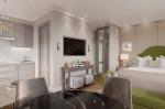 Bên trong căn hộ 31m2 có nội thất vô cùng tiện nghi