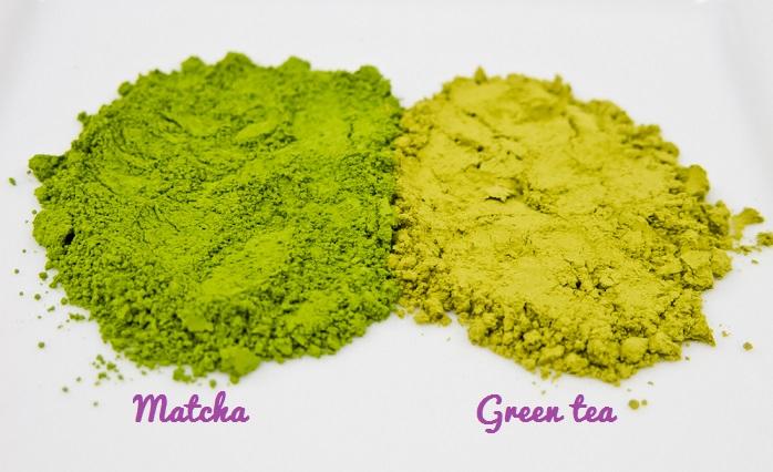 Bột matcha là loại bột được làm từ 100% búp trà non được xay mịn từ lá trà non thu hoạch vào sáng sớm