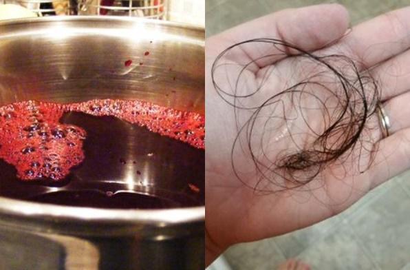 Tóc rụng  mãi không ngừng, dùng nước rau này là tóc dày ngay