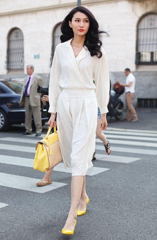 Muôn kiểu váy trắng giúp bạn xinh như thiên thần khi hè về