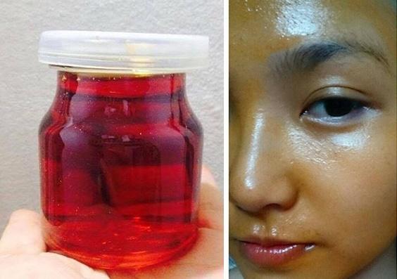 Thoa dầu gấc lên mặt mỗi tối là cách đơn giản để có được làn da đẹp