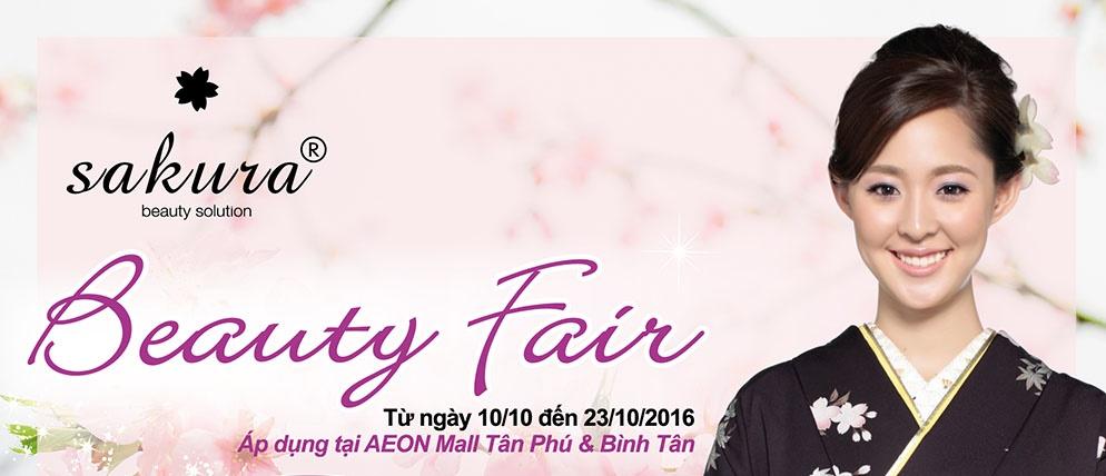 Nhận quà khủng khi tham gia  lễ hội làm đẹp - Chương trình Beauty Fair tại Aeon Tân Phú và Bình Tân