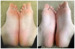 Bàn chân khô nẻ, sần sùi cỡ nào cũng trở nên trắng hồng nhờ nguyên liệu có sẵn trong phòng tắm