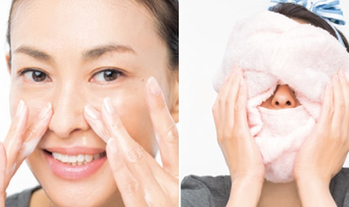 rửa mặt đúng cách giúp da đẹp hơn