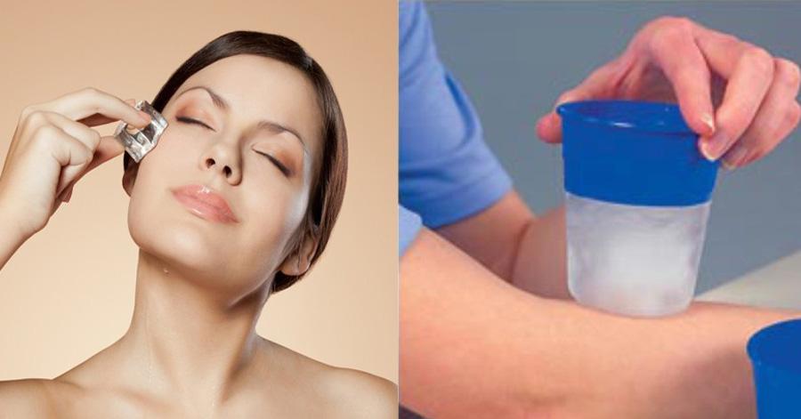 Bạn sẽ chườm đá lên da mỗi ngày sau khi biết được hàng tá công dụng hữu ích này