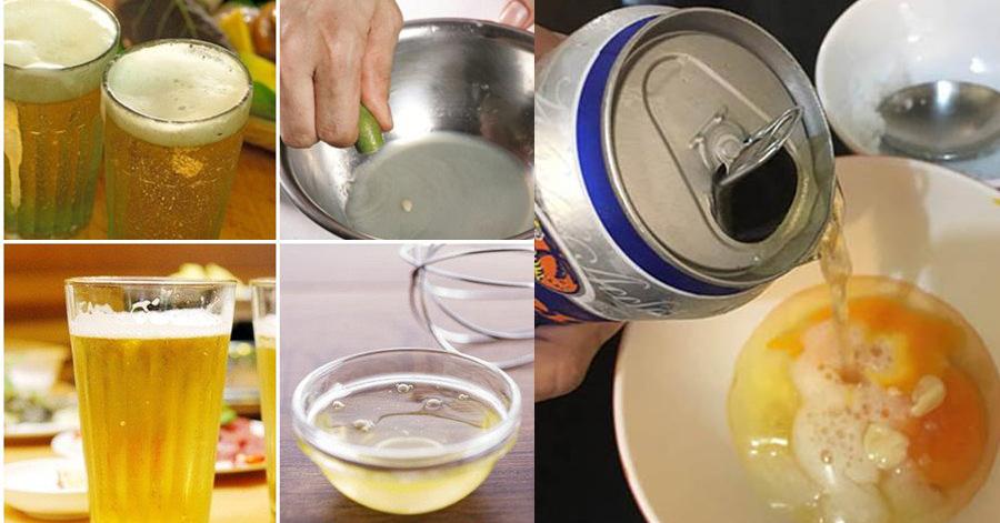 3 cách làm đẹp thần thánh từ bia giúp da khô thành mềm mịn, da đen cũng trắng hẳn lên