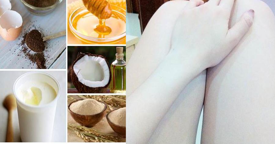 Lòng trắng trứng trộn với bột cà phê – Hỗn hợp tắm trắng siêu tốc cực kì an toàn không thể bỏ qua