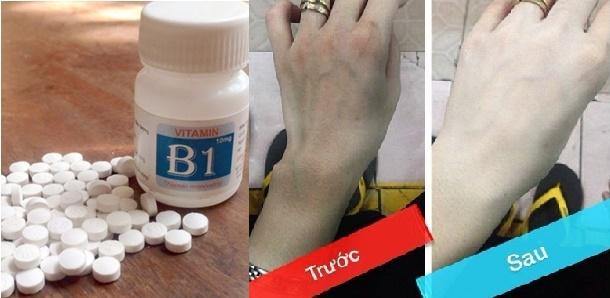 Nghiền nát 20 viên vitamin B1 rồi trộn thứ này đem tắm, da đen bẩm sinh cũng trắng bóc hiệu quả trong 1 tuần