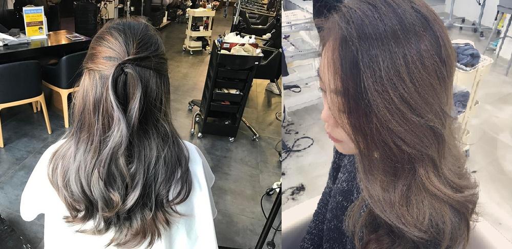 Màu tóc xám bạc xưa rồi, 2017 là phải nhuộm tóc màu nâu sương mù kia!