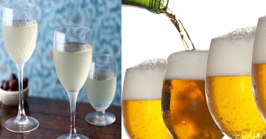 bia rượu làm nổi mụn