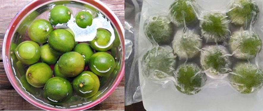 Bỏ chanh vào tủ lạnh cho đông đá rồi sử dụng thế này 10 người dùng 9 người mê vì...