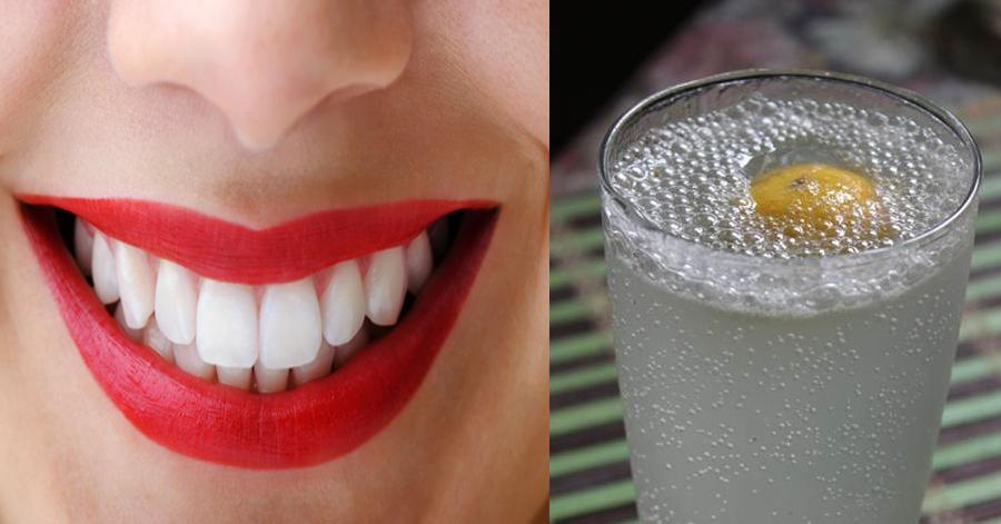Loại nước thần thánh chỉ cần ngậm lần đầu tiên là răng trắng bóng, hết sạch ố vàng, tự tin cười xinh