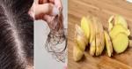 Gàu nhiều trắng đầu, tóc rụng đến mấy cũng được trị khỏi dứt điểm nhờ giã gừng để ủ theo cách này