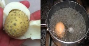 Hàng nghìn người đã triệt tận gốc mụn cám, đầu đen bằng trứng gà luộc bằng cách này