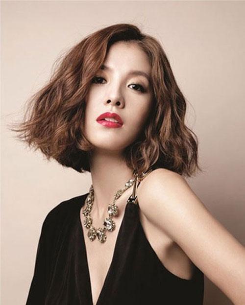 """Những kiểu tóc cứ để là đảm bảo """"bao đẹp"""" cho những cô nàng mặt dài"""
