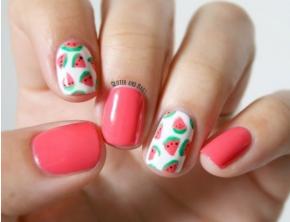 Chuối, táo, cam... ý tưởng nail hình trái cây nhiều màu sắc cho mùa hè rực rỡ
