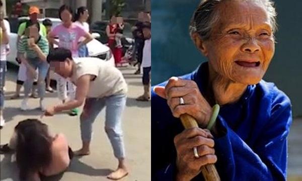Thấy con dâu bị đánh ghen ngược, mẹ chồng 95 tuổi vớ lấy cái xẻng lao vào làm điều không ngờ...