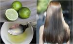 1 quả chanh - 5 công thức cho gàu biến mất hoàn toàn, tóc suôn mềm chắc khỏe không lo gãy rụng
