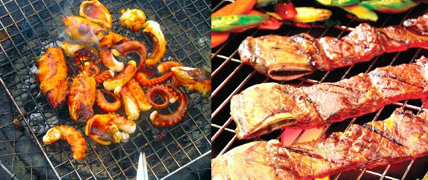 """Mẹo ướp thịt – hải sản để nướng thơm ngon """"bao ghiền"""""""