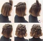 F5 bản thân với những kiểu tóc tết cực xinh dành riêng cho những nàng tóc ngắn