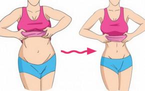 """Mỡ bụng giảm một cách """"thần sầu"""" cực kỳ đơn giản chỉ mất 5 phút để thực hiện thôi"""