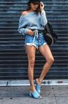 Mặc quần short thì phải chọn giày dép thế này mới chuẩn