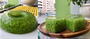 Làm món thạch lá dứa 1 RỪNG CÂY XANH cực độc lạ, mát mắt và ăn NGON VÔ CÙNG