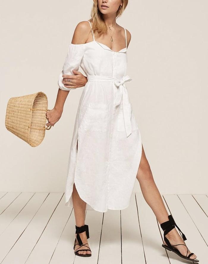 Diện váy trắng 'giải nhiệt' mùa hè nóng bức