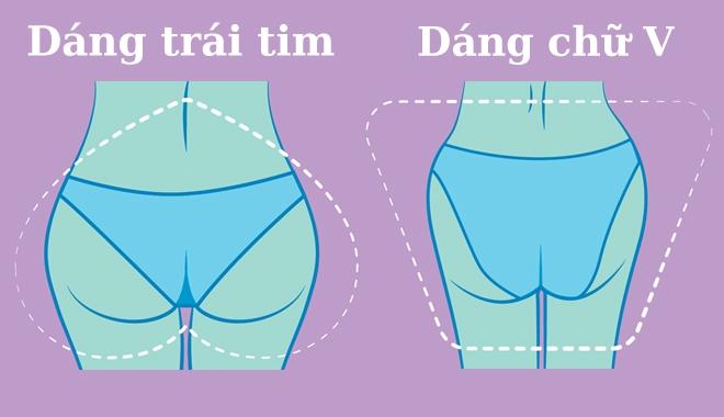 4 dáng mông cơ bản và bài tập giúp mông to tròn đẹp như trên tạp chí