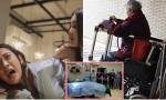 Thấy bồ định đá mạnh vào bụng con dâu bầu 7 tháng, mẹ chồng liệt ngồi trên xe lăn nhào người ra để che cho con dâu và cái kết rớt nước mắt