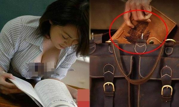 Cô học trò cố tình mặc áo trễ ngực rồi dí sát vào người chồng, vợ bỏ thứ này vào cặp cô ta và kết quả bất ngờ