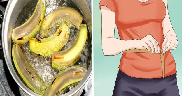 Tuyệt chiêu giảm cân cho eo thon thần tốc: Ăn vỏ chuối giảm béo bụng