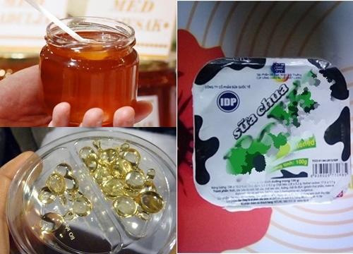Cứ lấy mật ong trộn với sữa chua rồi đắp lên mặt mà xem, da trắng bóc không tỳ vết luôn đấy