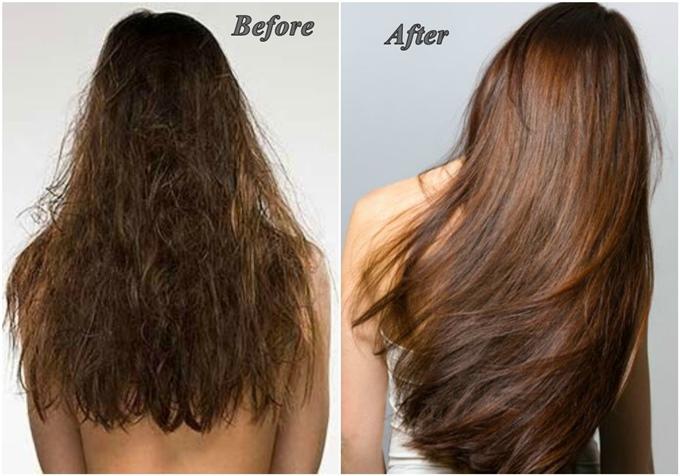 Cứ ngâm tóc với nước có ga 10 phút là óng ả, bồng bềnh ngay tức thì