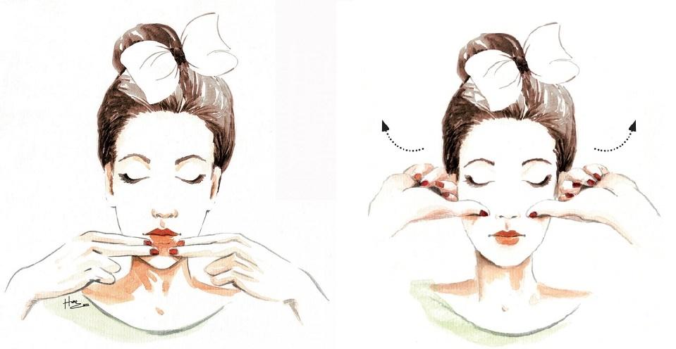 Top 4 động tác massage vùng mặt giúp bạn mãi trẻ như tuổi đôi mươi