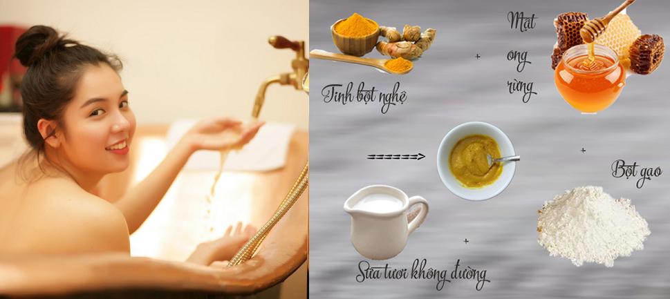 LỘT XÁC với 10 CÔNG THỨC hữu ích giúp dưỡng da trắng sáng trong khi tắm chỉ sau 1 THÁNG