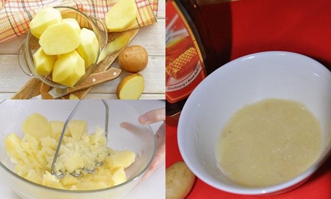 1 củ khoai tây – 3 cách khiến mắt thâm đen như gấu trúc sẽ vĩnh viễn ra đi chỉ sau 1 đêm, mẹo hay tiếc gì không thử
