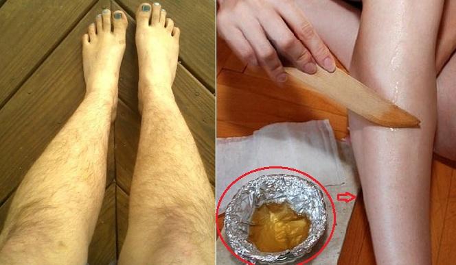 3 Cách triệt tẩy lông chân vĩnh viễn tại nhà bằng phương pháp tự nhiên