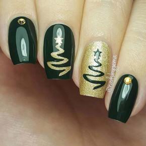 Những mẫu nail chủ đề giáng sinh đơn giản nhưng độc đáo mà bạn không thể bỏ qua!