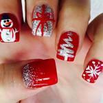 10 gợi ý vẽ móng tay đẹp theo chủ đề Giáng sinh